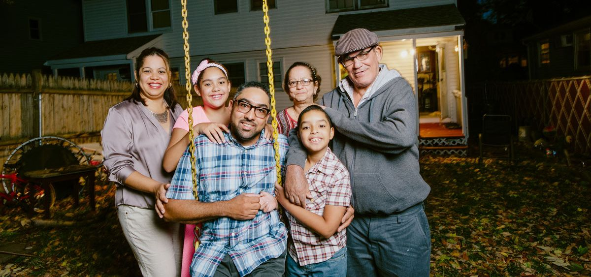 The Abreu Family, MassHousing borrowers