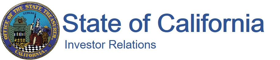 State of California Investor Relations logo