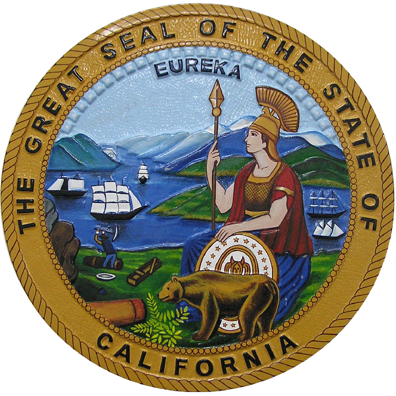 State of California Investor Relations - Official Seal or Logo